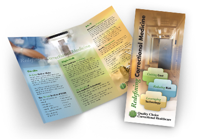Professional Brochure Design for QCCH by Dynamic Digital Advertising