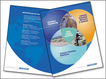 Brochure Design for Matcor by Dynamic Digital Advertising