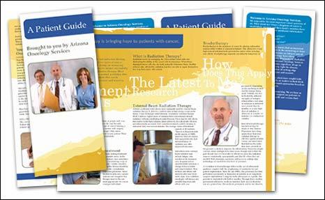 medical brochure tri fold