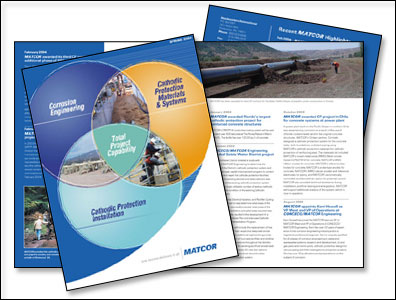 Custom Newsletter Design for MATCOR by Dynamic Digital Advertising