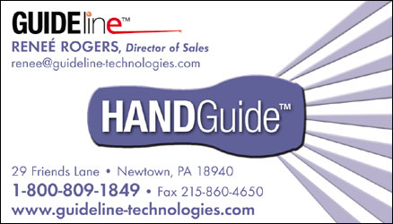 Business Card Design for Guideline HandGuide by Dynamic Digital Advertising
