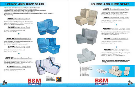 24 Page Catalog Design for Marine Seat Manufacturer B&M by Dynamic ...