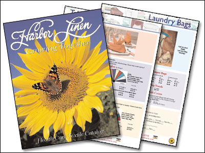 New Product Catalog Design for Harbor Linen by Dynamic Digital Advertising