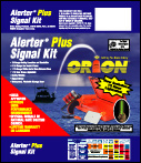 Package Design for Orion Signal Flares. An Entire Family of Products with a Shared Common Package Design and a Distinctive Look.