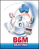 24-page Catalog Design for Marine Seat Manufacturer B&M