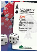 Academy Collection Service Invitation