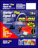 Package Design for Orion Signal Flares.