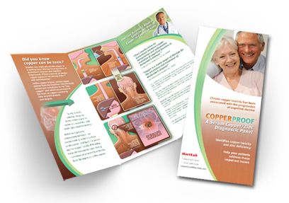professional brochure design for adeona pharmaceuticals