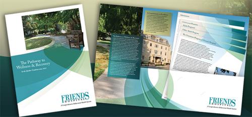 professional brochure design for friends