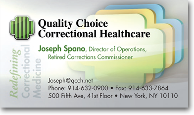 Business Card Design for QCCH by Dynamic Digital Advertising