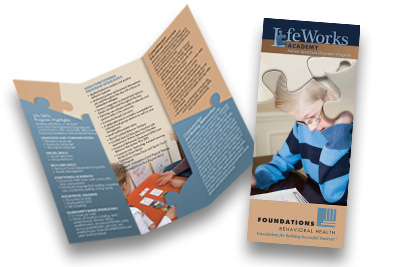 Professional Brochure Design for Foundations Behavioral Health by Dynamic Digital Advertising